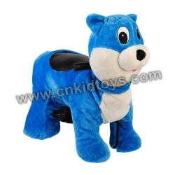 Zippy Ride Blue Cat
