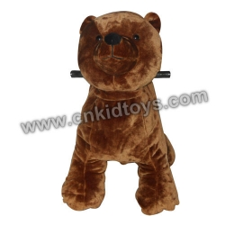 Bear Animal Rider Coin Operated Machine