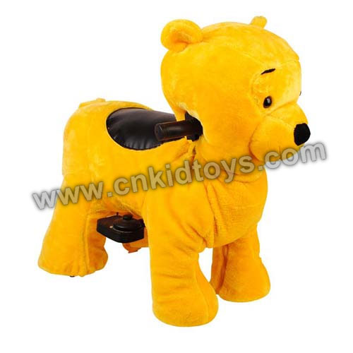 Zippy Ride Bear