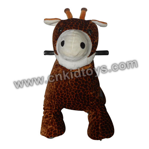 Giraffe Animal Rider Coin Operated Machine