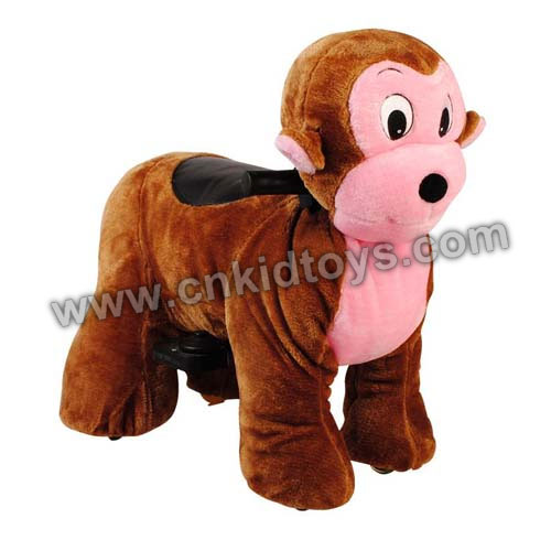 Battery Zippy Ride Walking Animal Monkey