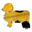 Yellow Bear Coin Operated Animal Rides